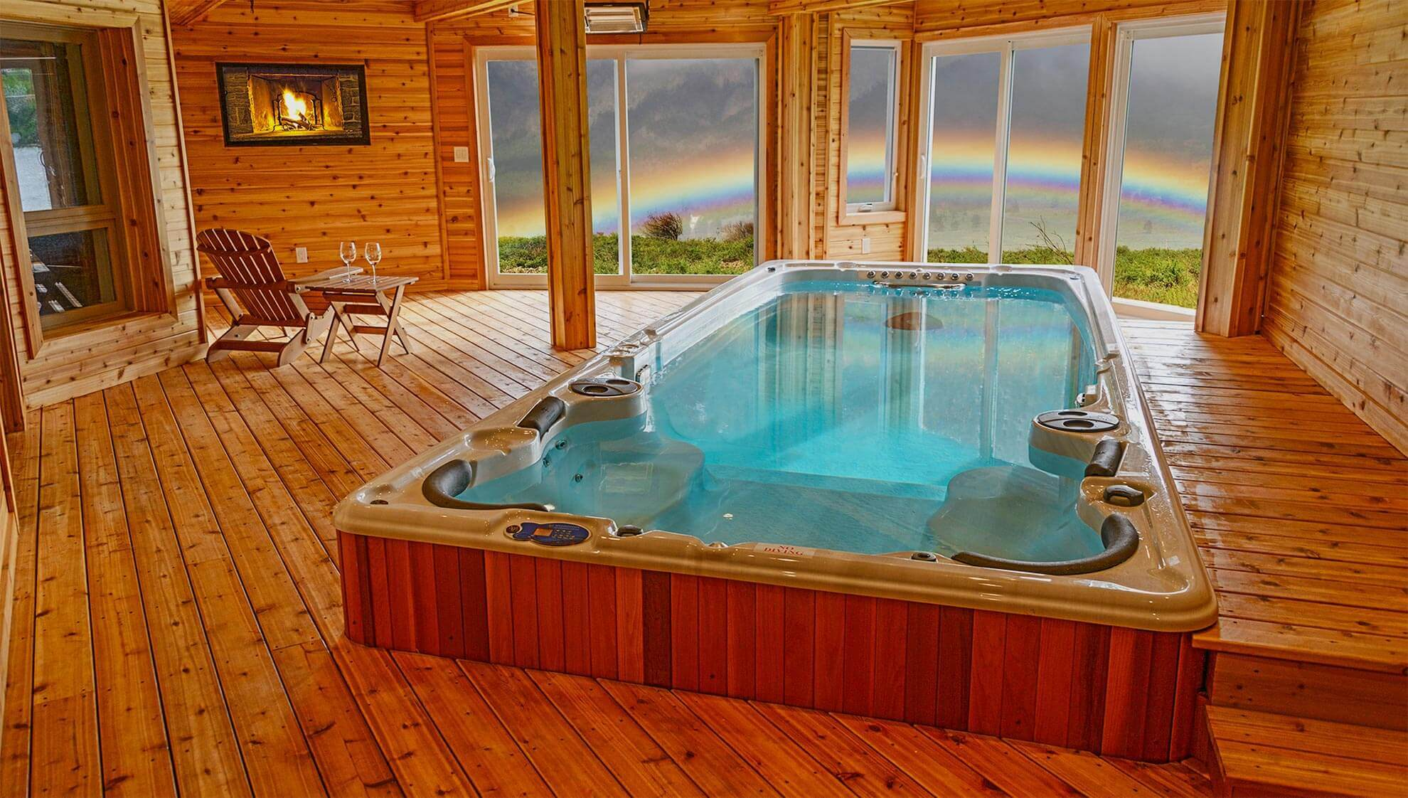 Hot Tub Enclosures for Outdoor Hot Tubs