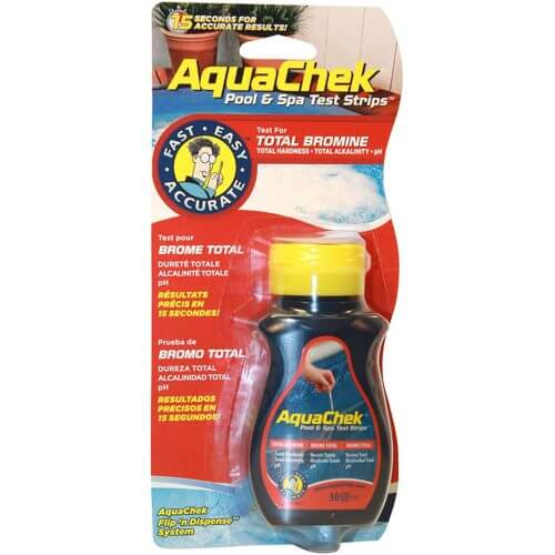 Aquachek Red Bromine Test Strips