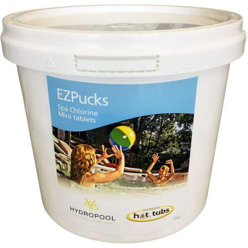 EzPucks 5kg Mini Chlorine Tablets for Hot Tub