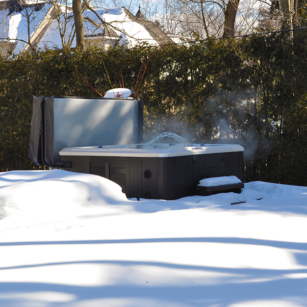 Prepare your hot tub for winter